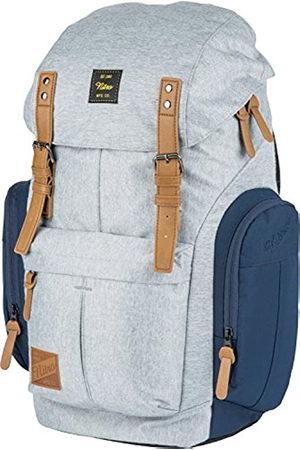 Nitro Daypacker Alltagsrucksack im Retro Look mit Gepolstertem Laptopfach, Schulrucksack, Wanderrucksack oder Streetpack, Größe und Schnitt ideal für Frauen