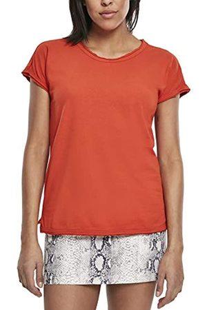 Urban classics Damen Ladies Pigment Dye Cut Open Tee T-Shirt