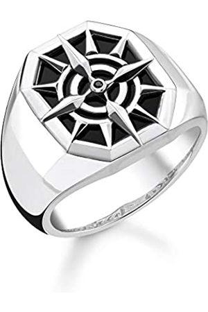 Thomas Sabo Thomas Sabo Unisex-Ring Kompass 925 Sterlingsilber TR2274-641-11-66