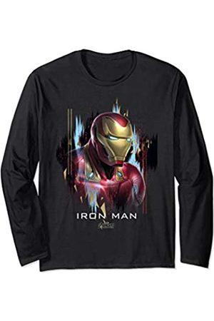 Marvel Marvel Avengers: Endgame Iron Man Paint Swipe Portrait Langarmshirt