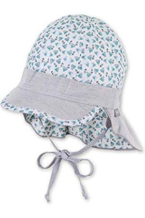 Sterntaler Jungen Hüte - Baby-Jungen Schirmmütze Bindebändern, Nackenschutz und Muster mit Segelboot-und Anker-Motiven Mütze