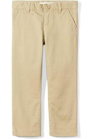 Amazon Mädchen Girls' Flat Front Uniform Chino Pant Hose