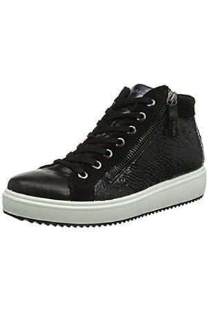 IGI&CO Damen Donna-41511 Hohe Sneaker, (Nero 4151200)