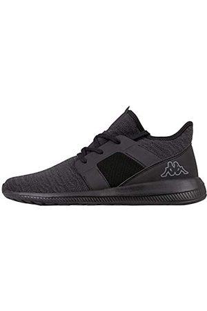 Kappa Unisex Amun II Sneaker, (Black 1111)