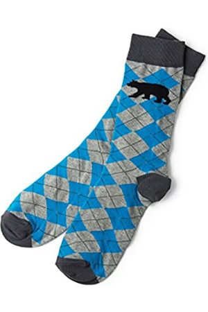 Hatley Little Blue House by Herren Crew Socken