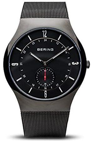 BERING Herren Analog Quarz Classic Collection Armbanduhr mit Edelstahl Armband und Saphirglas 11940-222