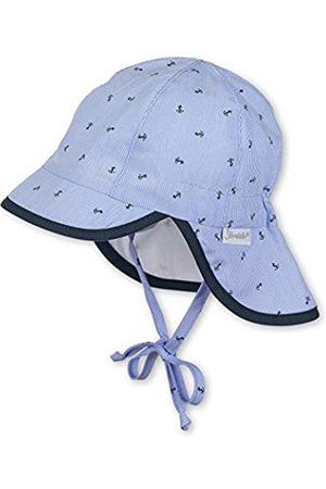 Sterntaler Schirmmütze für Jungen mit Bindebändern, Nackenschutz und Anker-Motiv, Alter: 5-6 Monate, Größe: 43