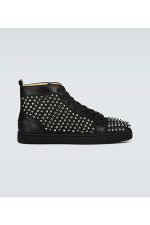Christian Louboutin Sneakers Louis Canvas Lurex