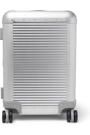 Fabbrica Pelletterie Spinner 53cm Leather-Trimmed Aluminium Carry-On Suitcase
