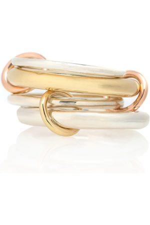 SPINELLI KILCOLLIN Ring Cici aus 18kt Gelbgold, 18kt Rosé und 925er Sterlingsilber