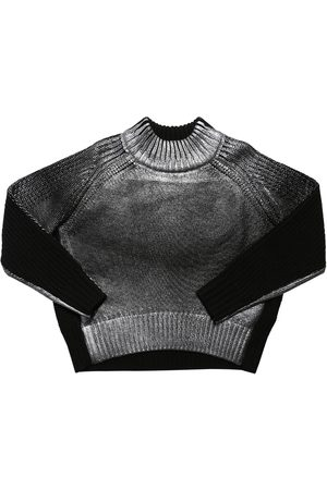Diesel Mädchen Strickpullover - Pullover Aus Wollmischstrick