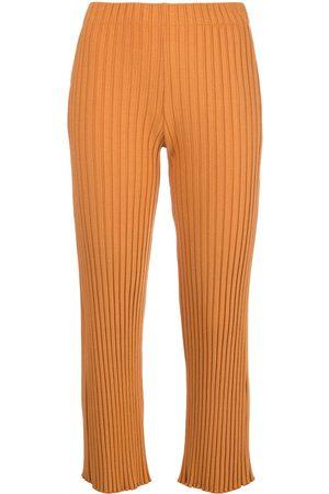 SIMON MILLER Cropped-Hose mit hohem Bund
