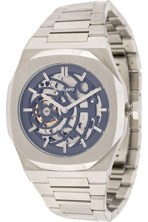 D1 MILANO SKBJ01 Skeleton' Armbanduhr, 40mm - Metallisch