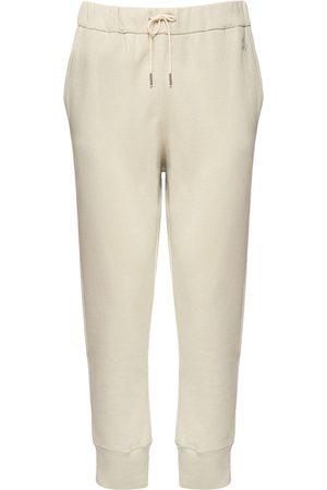 Jil Sander Herren Jogginghosen - Logo Embroidery Cotton Sweatpants