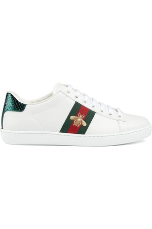 Gucci Bestickte 'Ace' Sneakers