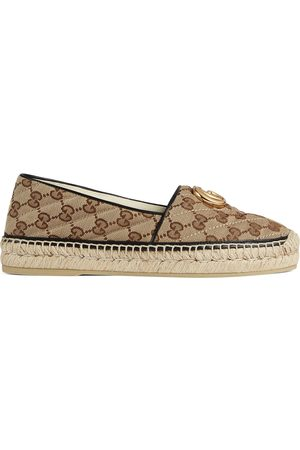 Gucci Damen Keilabsätze - Damen-Espadrille aus GG Canvas mit Matelassé