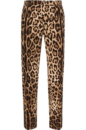 Dolce & Gabbana Hose mit Leoparden-Print
