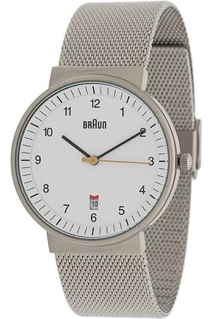 Braun Watches BN0032' Armbanduhr, 40mm - Metallisch