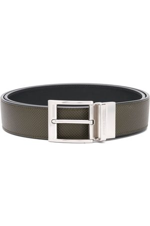 Bottega Veneta Reversible textured leather belt