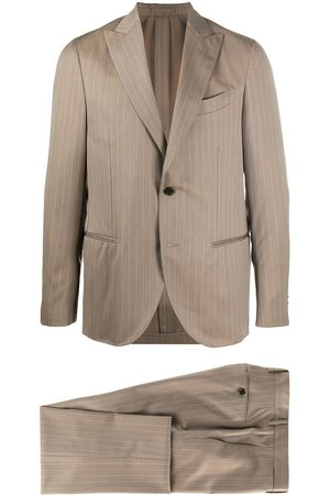 DELL'OGLIO Zweiteiliger Anzug mit Nadelstreifen