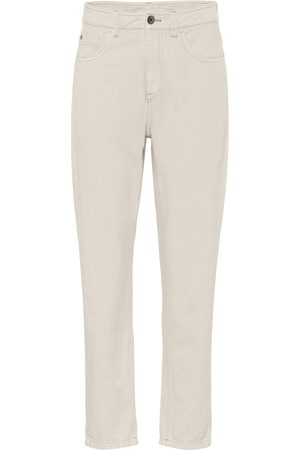 Brunello Cucinelli High-Rise Slim Jeans
