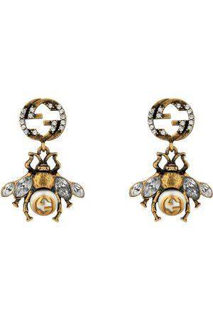 Gucci Damen Uhren - Ohrringe mit Biene und GG