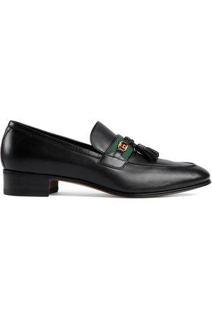 Gucci Herren Halbschuhe - Herren-Loafer mit Web und GG