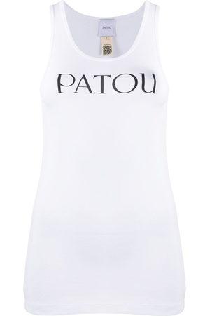 Patou Tanktop mit Logo-Print