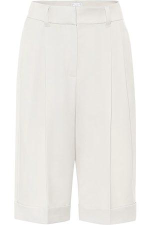 Brunello Cucinelli Shorts aus Schurwolle