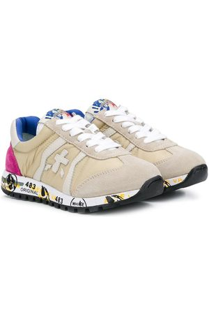 Premiata Lucy-B lace-up sneakers - Nude