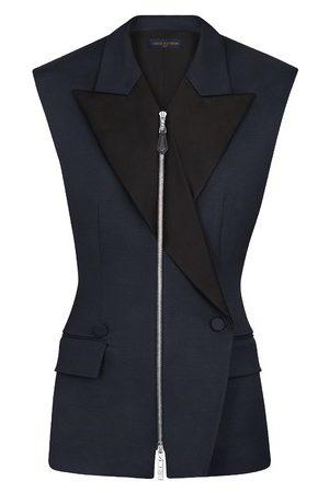LOUIS VUITTON Damen Blazer & Sakkos - Ärmelloser Blazer mit Reißverschluss
