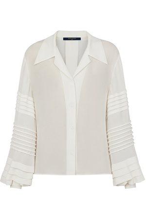 LOUIS VUITTON Damen Blusen - Geknöpfte Bluse mit aufwendigen Ärmeln