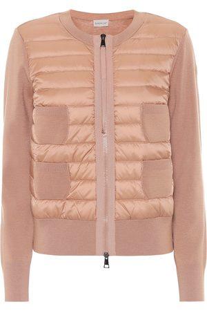 Moncler Jacke aus Shell und Wolle