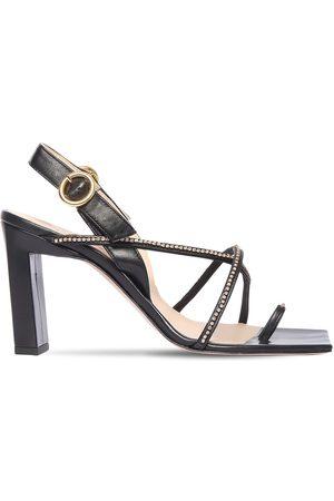 """Wandler 85mm Hohe Sandaletten Aus Leder """"elza"""""""