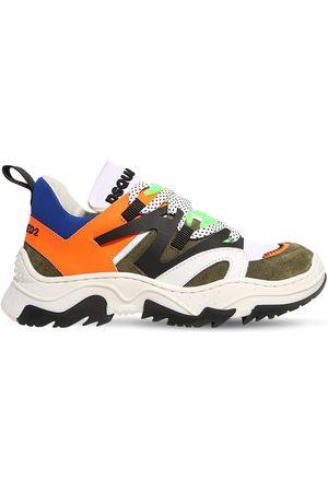 Dsquared2 Sneakers Aus Neopren Und Leder