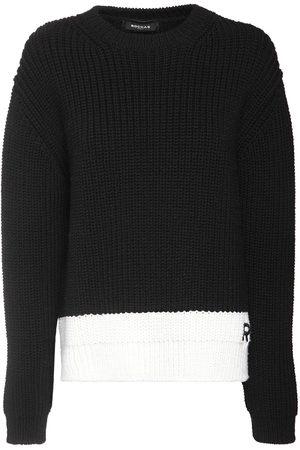 Rochas Sweater Aus Wollstrickripp
