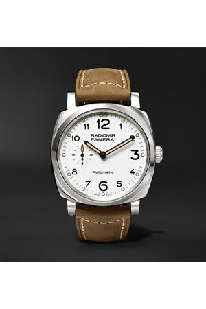 PANERAI Radiomir 1940 3 Days Automatic Acciaio 42mm Stainless Steel and Leather Watch, Ref. No. PAM00655