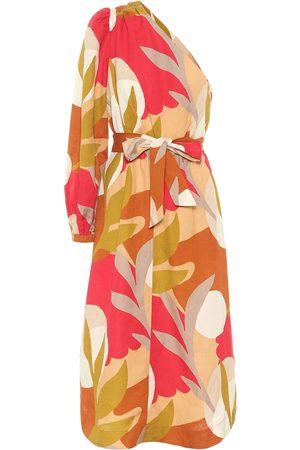 Rebecca Vallance Damen Asymmetrische Kleider - One-Shoulder-Kleid Sangria