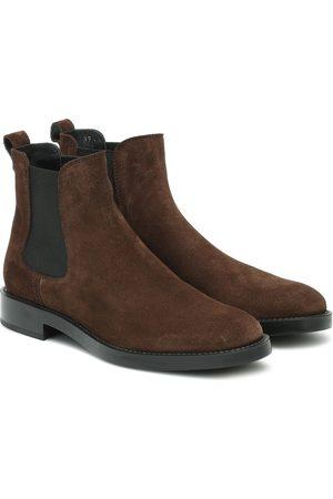 Tod's Chelsea Boots aus Velousleder