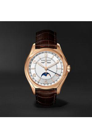 Vacheron Constantin Fiftysix Automatic Complete Calendar 40mm 18-Karat Pink Gold and Alligator Watch, Ref. No. 4000E/000R-B438