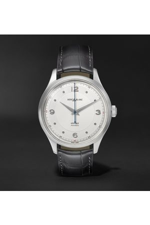 Mont Blanc Heritage Automatic 40mm Stainless Steel and Alligator Watch, Ref. No. 119943
