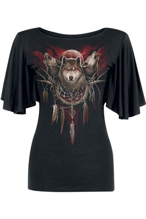 Spiral Cry Of The Wolf Girl-Shirt