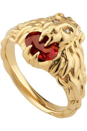Gucci 18kt Gelbgoldring mit Diamanten