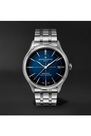 Baume & Mercier Clifton Baumatic 10468 Automatic Chronometer 40mm Stainless Steel Watch, Ref. No. M0A10468
