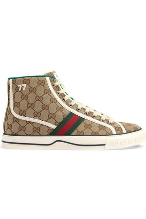 Gucci Tennis 1977' High-Top-Sneakers - Nude