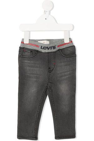 Levi's Kids Ribbed-waist skinny jeans