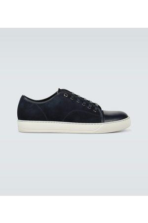 Lanvin Sneakers - Sneakers aus Veloursleder und Leder