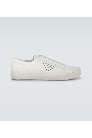 Prada Sneakers Wheel aus Leder
