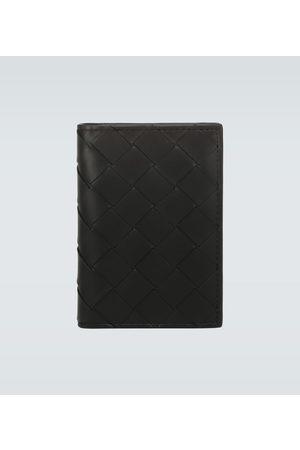 Bottega Veneta Faltbares Kartenetui aus Leder