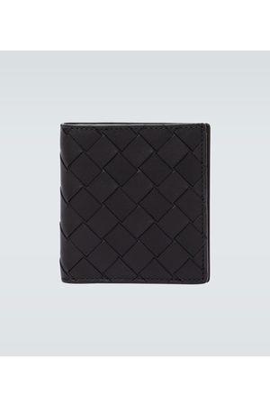 Bottega Veneta Faltbares Portemonnaie aus Leder